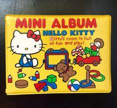 1976 hello kitty vintage mini album