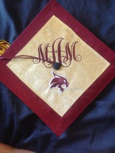 Graduation cap for Texas State University!