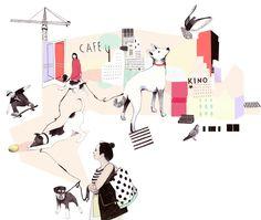 Laura Laakso fashion illustration Laura... | Fashionary Hand - A Fashion Illustration Blog