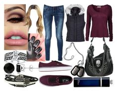 """""""Let Me Know"""" by lavonneb88 ❤ liked on Polyvore featuring American Vintage, Zara, Vans, Allurez and Christian Dior"""