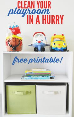 Download this free printable chore chart to clean your playroom in a hurry! #CleanForTheHolidays #CollectiveBias #ad