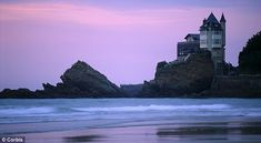Biarritz at sunset- top things to do in Biarritz