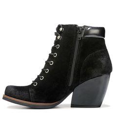 c819d3956 Korks Women's Sandy Lace Up Boots (Black)