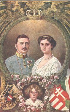 Kaiser Karl I. und Kaiserin Zita von Österreich, Emperor and Empress of Austria