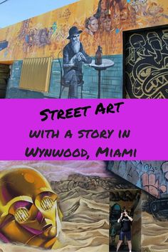Street Art with a Story in Wynwood Miami.  The art is incredible but the story behind it moved me!  http://RoarLoud.net