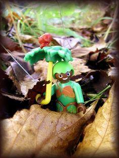 Auch der Herbst hat seine kleinen Naturgeister. Playmobil
