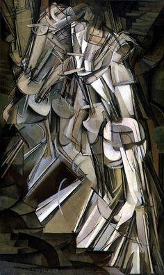 Marcel Duchamp-Nude descending staircase