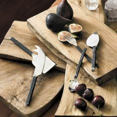 Perfect for setting the stage for a rustic holiday party, our Bark Flatware is 15% off through this Sunday!