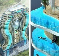 Swimming balconies in mumbai