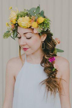 Tropical garden summer wedding | Garden wedding | 100 Layer Cake