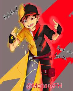 """(creative title there)//slapped If your eyes hurt looking at this, cover one of his eye. That kinda help me. By """"Siapa BoBoiBoy?"""" (Who's BoBoiBoy?), I was referring to the first season, episode 6. ..."""