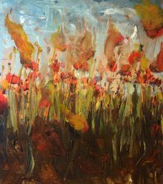 Burning Poppies
