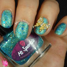 Manis & Makeovers: New Ms. Sparkle Pretties! http://manisandmakeovers.blogspot.com/2014/12/new-ms-sparkle-pretties.html