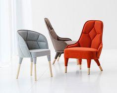 Emma Lounge Chair $4695 ICF International                                                                      Design by: Fredrik Färg & Emma Marga BlancheManufactur...