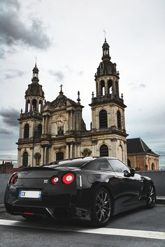 Nissan GTR... Kale would gladly trade me in for one
