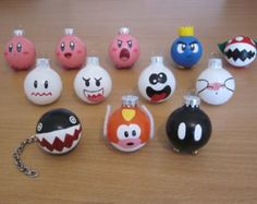 1.5 Inch Ornaments Small (Choose any 4)
