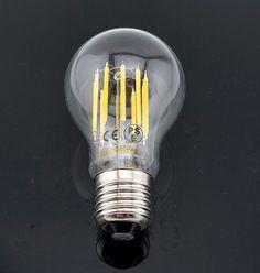 Bonlux 10w A19 Edison Style Vintage Led Filament Bulb Medium E26 Base Neutral White 4000k Clear Gl Decorative Light 100 Watt Incandescent
