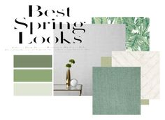 moodboard spring by anna-ochalek on Polyvore featuring interior, interiors, interior design, dom, home decor, interior decorating, West Elm, Andrew Martin, Graham & Brown and Tempaper