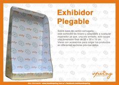 Exhibidor Plegable