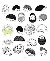 Image result for cute hedgehog drawing