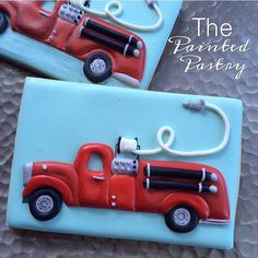 fire engine @the paintedpastry