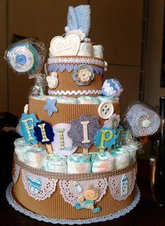 diaper cake torta pannolini
