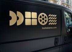 bls blssign&print blssignenprint sign print voertuigreclame los italianos