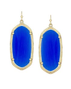 Elle Earrings in Cobalt - Kendra Scott Jewelry