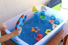 Indoor and Outdoor Water Play & Sensory Bin Activities for Toddlers | CRAZY LIFE WITH LITTLES - Lifestyle, Travel Motherhood Blog