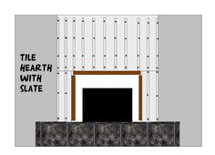 cover existing brick fireplace