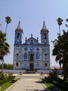 Igreja Matriz de Santa Marinha de Cortegaça (XII). Cortegaça, Aveiro, Portugal.