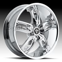 DUB Wheels Nasty - 20 inch 20x8.5 Chrome Rims Click For Full Image c942bf2acd