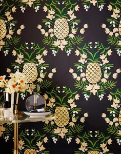 Designed by Rifle Paper Co. and screen printed by hand, this high quality, designer wallpaper is extremely durable, fade resistant and…