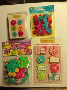 #ScrapbookEmbellishments #WholesaleLot Assorted Paper Craft And Scrapbook Embellishments Wholesale Lot New Unused P-13 #Assorted
