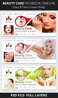 Beauty Care Facebook Timeline Template PSD. Download here: http://graphicriver.net/item/beauty-care-facebook-timeline/16712568?ref=ksioks