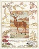 Gallery.ru / Фото #1 - Deer - CrossStich