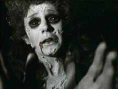 Jan Francis as Mina Van Helsing in the 1979 Dracula film. Such a wonderfully scary image.