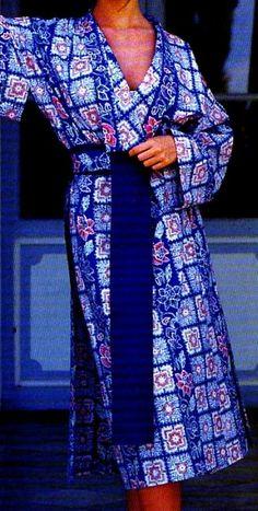 FTuto et patron La robe de chambre kimono