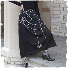 Spider Web Skirt, how cool!