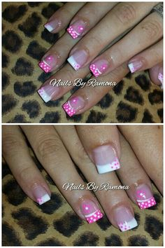 pastel tips rainbow dotted easter nails Easter Nail Designs, French Nail Designs, Colorful Nail Designs, Nail Designs Spring, Cool Nail Designs, Art Designs, Cancer Nails, Solar Nails, Polka Dot Nails