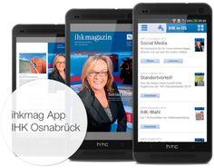Das Magazin der IHK Osnabrück ist dank der ihkmag App nun auch mobil verfügbar.