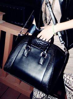 New Fashion women handbag brief crocodile pattern shoulder bags women messenger bags women leather handbags bag Fall Handbags, Fashion Handbags, Leather Handbags, Fashion Bags, New Fashion, Fashion Outfits, Womens Fashion, Orange Bag, Fashion Accessories