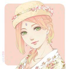 Naruto - Sakura - Fanart