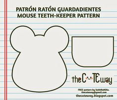 TheCuteWay: Ratoncito guardadientes - Mouse teethkeeper
