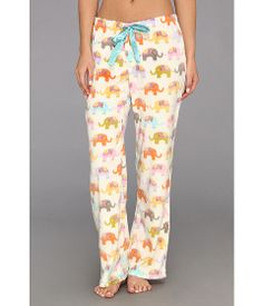 P.J. Salvage Plush Polar Pajama Pant Natural Elephant - Zappos.com Free Shipping BOTH Ways