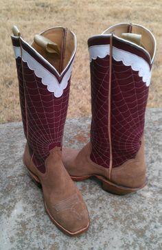 Bar None cowboy, rough out foot