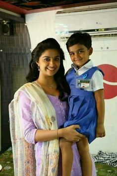 Keerthi and school girl Beautiful Smile, Beautiful Images, Embroidery Neck Designs, Mom Daughter, Kurta Designs, Actress Photos, Indian Beauty, Indian Actresses, Portrait Photography