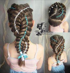 dutch woven 5 strand braid - http://goo.gl/fVikm4