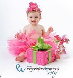 1st Birthday Girl Tutu Pink Tutu set Birthday by TrinitysTutus, $25.00