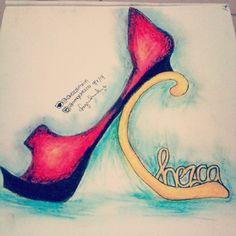 I tried ~ lol #drawingoftheday #drawing #shoedrawing #shoes #heels #myartwork #ART #artwork Artworks, Sketches, Drawings, Heels, Painting, Heel, Art Pieces, Painting Art, Shoes High Heels